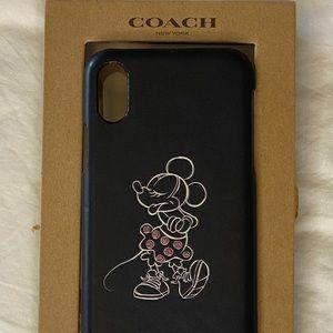 Disney Coach iPhone X Case